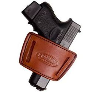 Tagua IWH Inside the Waist Universal Small Frame Holster Ambidextrous Leather Brown IWH-002