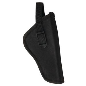 "Bulldog Cases Deluxe Hip Holster 3-4"" Medium Revolver Right Hand Nylon Black"