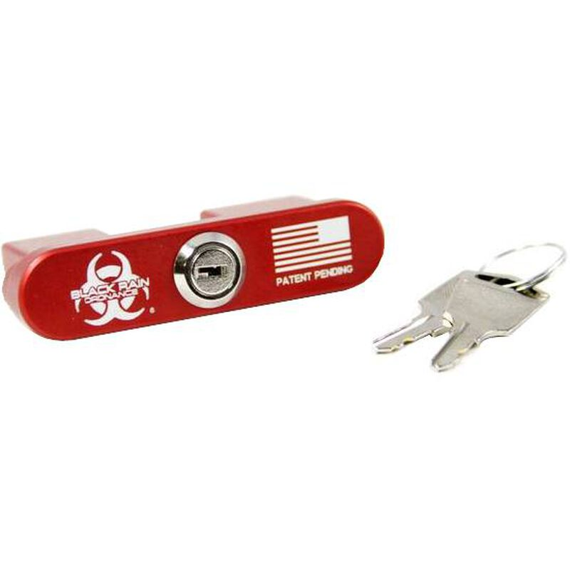 Black Rain BRO-Lock AR308 Bolt/Chamber Lock Aluminum Red
