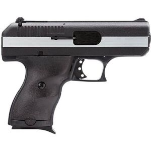 "Hi-Point CF-380 Semi-Automatic Handgun .380 ACP 3.5"" Barrel 8 Rounds Polymer Frame Black and Chrome Finish"