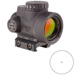 Trijicon MRO 1x25 2.0 MOA with Low Profile Mount Black MRO-C-2200004