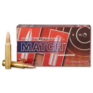 Hornady 5.56 NATO Superformance Match  Ammunition 75 Grain BTHP 20 Rounds 81264