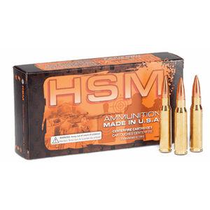 HSM .223 Remington Ammunition 50 Rounds Speer TNT HP 50 Grains HSM-223-3-N
