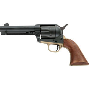 "E.M.F. 1873 Dakota II .45 LC Revolver, 4.75"" Barrel, 6 Rounds, Brass Grip Frame, Walnut Grips, Black Finish"