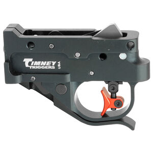 Timney Trigger Ruger 10/22 Calvin Elite Trigger Pull Set 1.5 to 2 Pounds Multi-Shoes Black Housing/Red Trigger Shoe