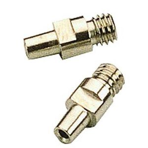 Traditions Nipple for #11 Caps M6x1 Thread Stainless Steel 2 Pack A1250