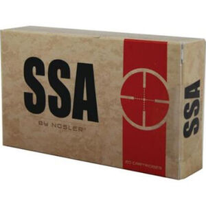 SSA 7.62x39mm Ammunition 20 Rounds 123 Grain Nosler Varmageddon Bullet 2350 fps