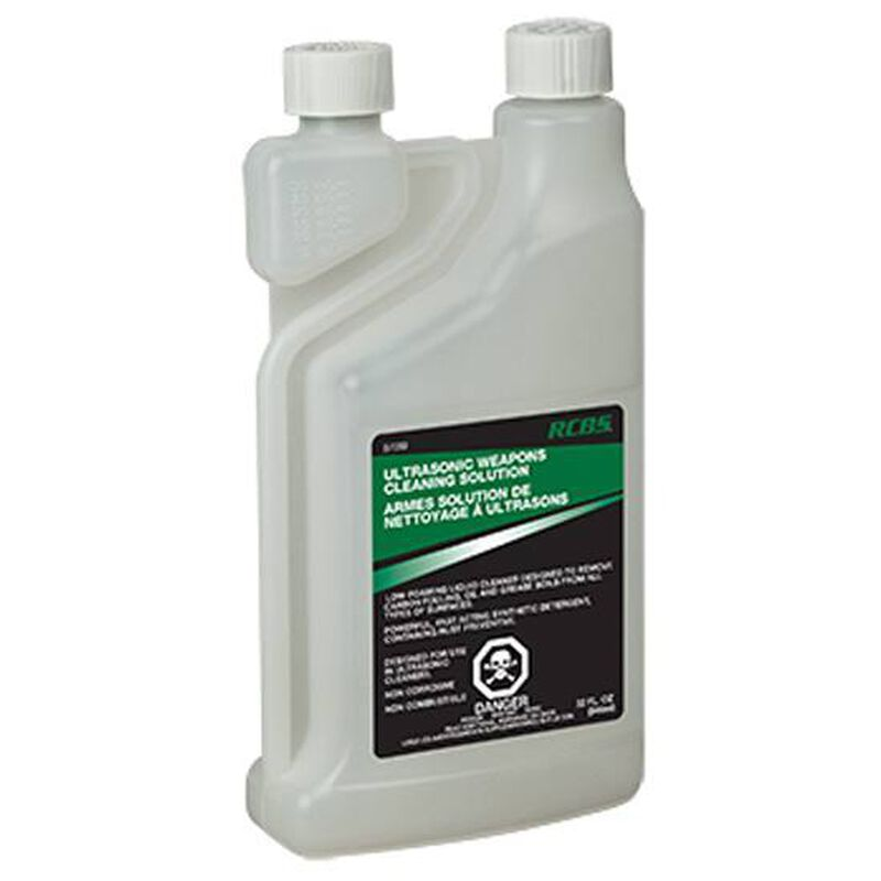 RCBS Ultrasonic Weapons Cleaning Solution Non-Toxic Concentrate 1 Quart 87059