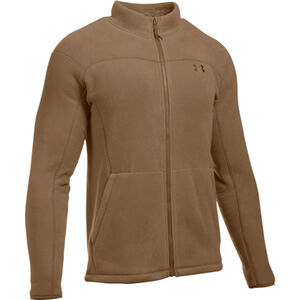 Under Armour Tactical Stealth Fleece Jacket Men's Outerwear Size Large Coyote Brown