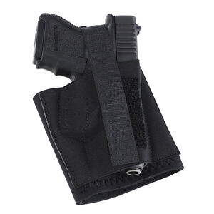 Galco Cop Ankle Band Holster Large Multi Fit Right Hand Elastic Black CAB2L