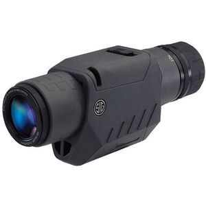 SIG Sauer 10-20x30mm OSCAR3 Compact Spotting Scope Electronic Image Stabilization Low Dispersion Multi Coated Glass Polymer Frame with Rubber Armor Black Finish SOV31001