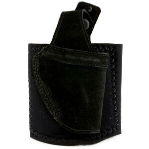Galco Ankle Lite Ruger LCR Ankle Holster Right Hand Black