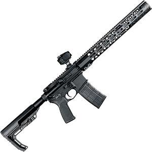 "ZRODelta Range Ready LOVA 5.56 NATO AR-15 Semi Auto Rifle 16"" Barrel 30 Rounds .223 Wylde with Red Dot Sight M-LOK Handguard MFT Stock Black"
