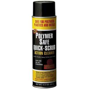 Shooter's Choice, Polymer Safe Quick Scrub Action Cleaner, 12.5 Ounce Aerosol Can, 12 Pack