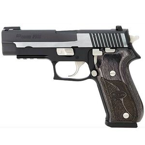 "SIG Sauer P220R Equinox Semi Automatic Handgun .45 ACP 4.4"" Barrel 8 Rounds TRUGLO Front Sight SIGLITE Rear Sight Alloy Frame Two Tone Finish"