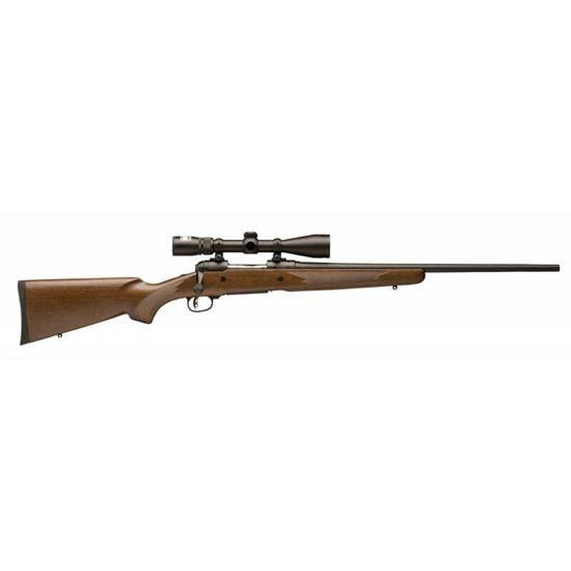 "Savage 10 Trophy Hunter XP Bolt Action Rifle .22-250 Rem 22"" Barrel 4 Rounds Wood Stock Black Finish 3-9x40 Scope"