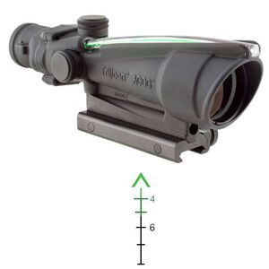 Trijicon ACOG 3.5x35 Dual Illuminated Green Chevron BAC .308 Flattop Reticle with TA51 Mount