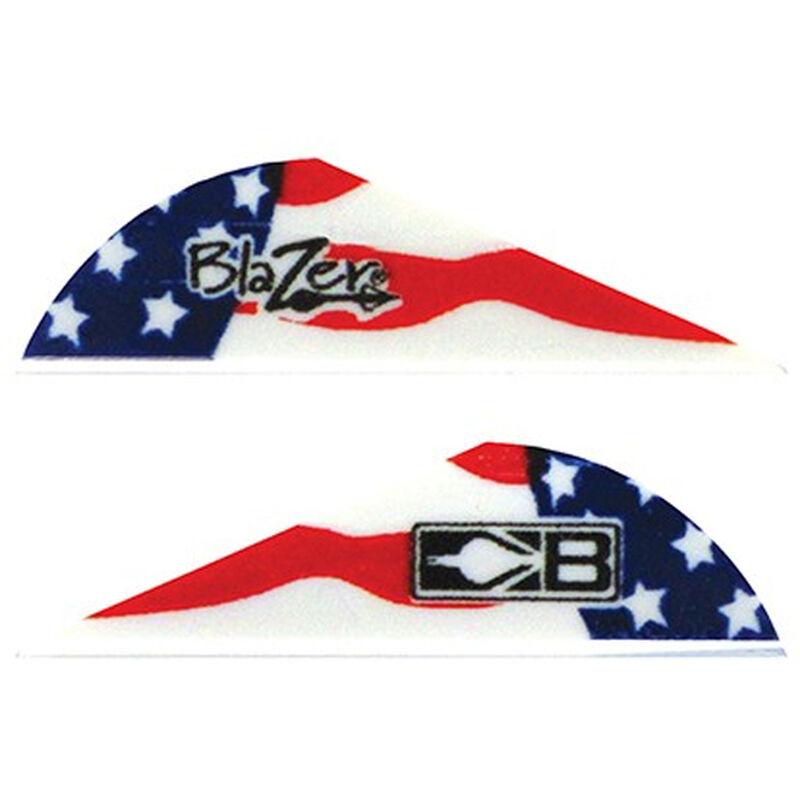 Bohning Blazer Patriotic Vanes 6 Grains Synthetic True Color American Flag 36 Pack