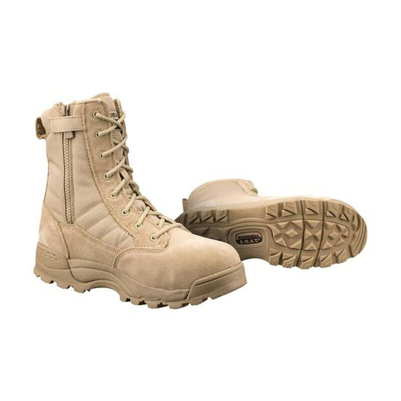 """S.W.A.T. Men's Classic 9"""" Side Zip Safety Boot"""