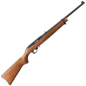 """Ruger 10/22 22 LR Semi Auto Rifle 18.5"""" Barrel 10 Rounds Wood Stock"""