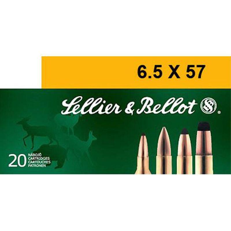 Sellier & Bellot 6.5x57mm Mauser Ammunition 20 Rounds SP 131 Grains SB6557A