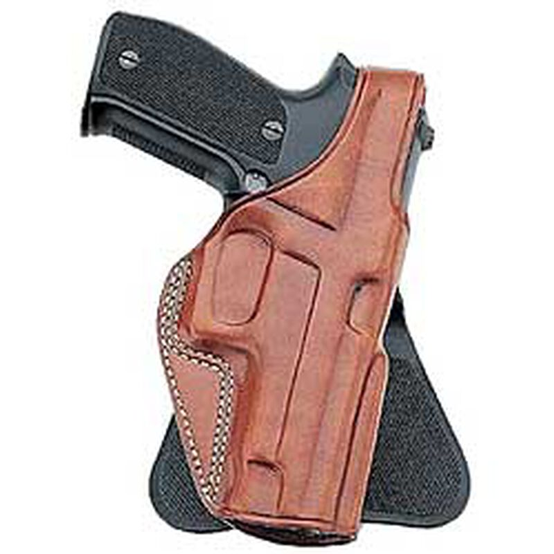 """Galco PLE Paddle Holster Fits 1911 Mid Size 4"""" Right Hand Leather Tan"""