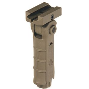UTG AR-15 Ambidextrous 5 Position Vertical ForeGrip FDE RB-FGRP170D