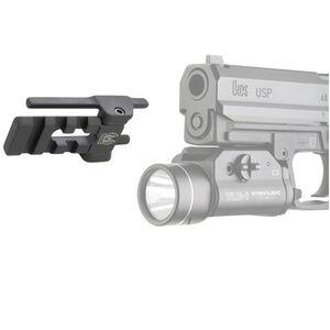 GG&G HK USP Full Size Light/Laser Mount Aluminum Matte Black