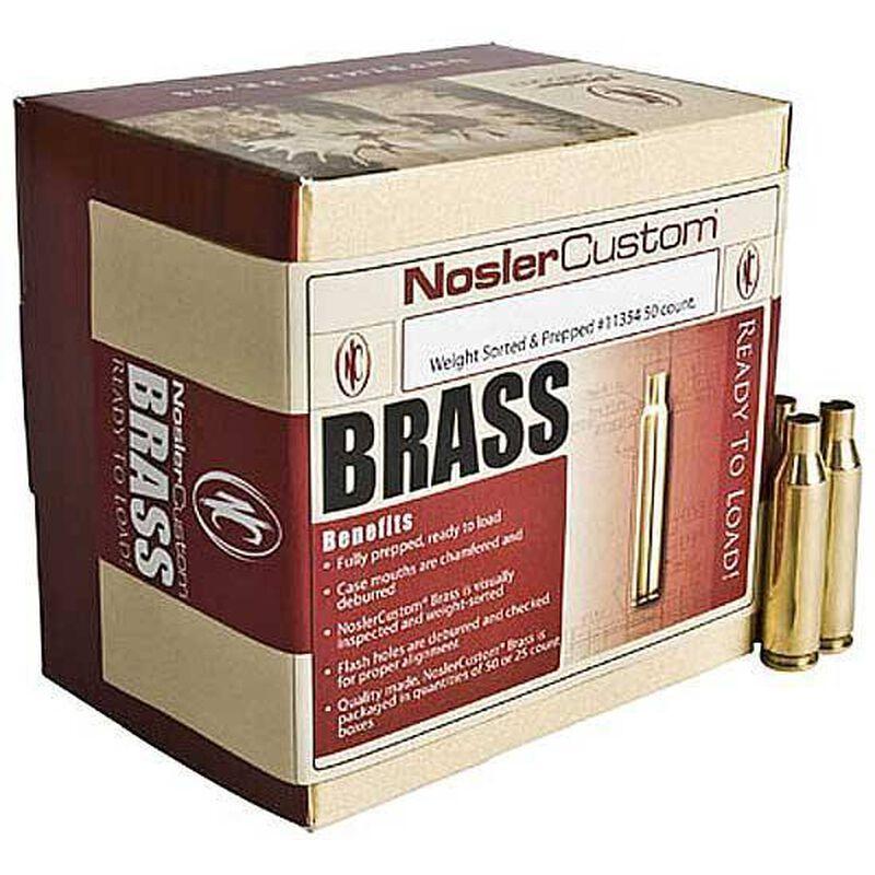 Nosler .17 Remington Unprimed Brass 100 Count 10128