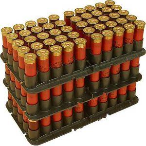 MTM Case-Gard 20 Gauge Shotgun Shotshell Trays 50 Round Capacity Stackable Polymer Black
