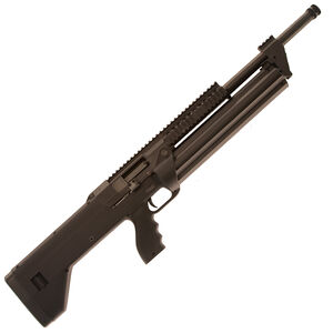 "SRM Arms SRM-1228 Semi Auto Shotgun 18.5"" Barrel 28 Rounds Detachable Manually Indexing Magazine Aguila Minishells Only Polymer Stock Matte Black Finish"