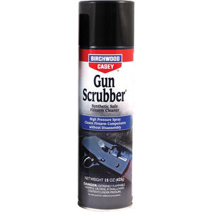 Birchwood Casey Gun Scrubber Synthetic Safe Cleaner 15 oz Aerosol Can 6 Pack 33348