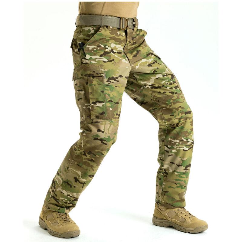 5.11 Tactical MultiCam TDU  Pants Size 2XL Long Polyester/Cotton MultiCam 74350
