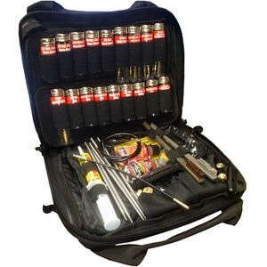 Pro-Shot Super Kit .22 Caliber to 12 Gauge Universal Gun Cleaning Kit with Black Tactical Soft Case