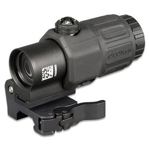 EoTech G33 3x Magnifier Combo with Quick Detach Switch To Side Mount Weaver/Picatinny Compatible Matte Black Finish