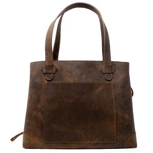 VersaCarry Conceal Carry Purse Leather Brown