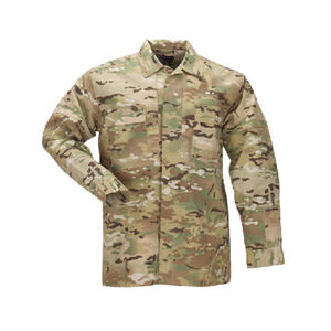 5.11 Tactical Multicam TDU Long Sleeve Shirt