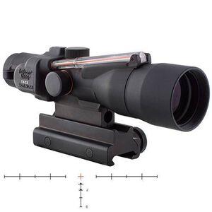 Trijicon ACOG TA33-C-400065 3x30 Riflescope Illuminated Red Crosshair .300 Blackout Ballistic Reticle 1/4 MOA Aluminum Black with TA60 Mount TA33-C-400065