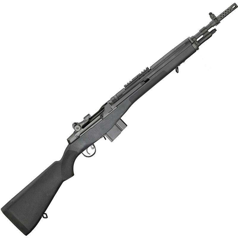 "Springfield Armory M1A Scout Squad 7.62 NATO Semi Automatic Rifle 18"" Barrel 10 Rounds Black Composite Stock"