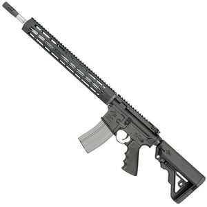 "Rock River LAR-15 R3 Competition AR15 5.56 NATO Semi Auto Rifle 30 Rounds 18"" Barrel Free Float Handguard Adjustable Stock Black"