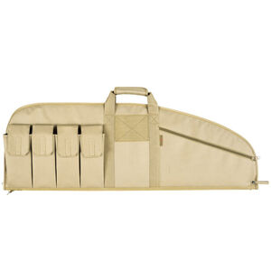 "Allen Combat Tactical Rifle Case 37"" Endura Nylon Fabric Tan"