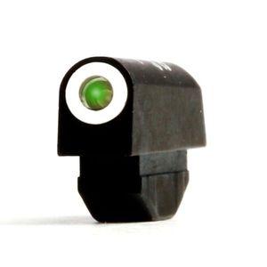 XS Sight Systems Tritium Front Sight Standard Dot S&W J-frame/Ruger SP101 Green Tritium Front Matte Black