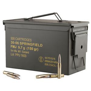 Prvi Partizan 30-06 Springfield M1 Garand Ammunition FMJ 150 Grains 2745 fps