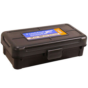 Frankford Arsenal Plastic Hinge-Top Ammo Box 50 Round .380ACP/9mm and Similar Polymer Gray