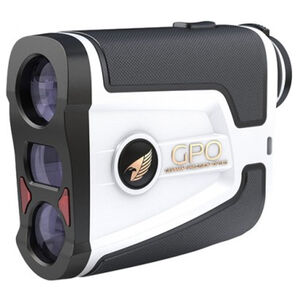 GPO Passion Flagmaster 1800 Rangefinder 6x Magnification 1800 Yard Max Range White and Black
