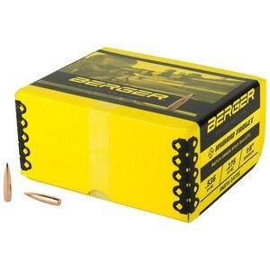 "Berger Bullets 6mm .243"" Diameter 105 Grain Hybrid Target Projectiles 500 Count 24733"