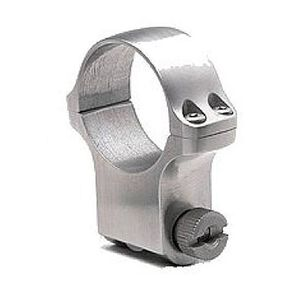 """Ruger 1"""" Scope Ring High Stainless Steel Finish"""