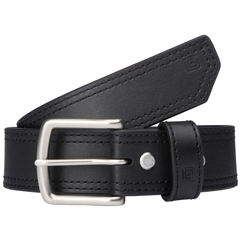 "5.11 Tactical Arc 1.5"" Leather Belt Medium 32-34"" Black"