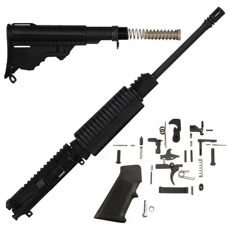 "DPMS Oracle AR-15 Carbine Rifle Build Kit Flat Top 16"" Black KT-OC"