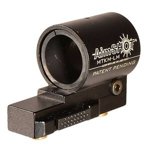 "AimShot KeyMod QR Flashlight Mount 1"" or 7/8"" Tube Aluminum Black"